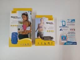 Título do anúncio: Case Suporte de celular bage para corrida e atletisto