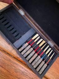 Estojo de palhetas para oboe