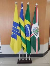 Título do anúncio: Bandeira do Brasil, Municipal e Estadual | Bandeira Personalizada | Times