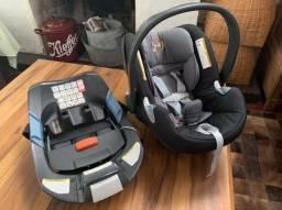 Bebê Conforto + Base Isofix Cybex Aton Q