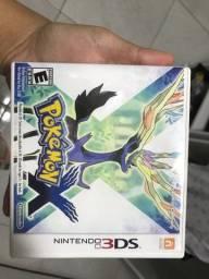 Pokemon X - 3DS na Caixa