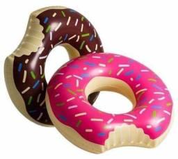 Boia Infantil De Cintura Donuts 60cm Morango ou Chocolate Piscina Diversão