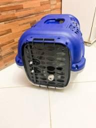Título do anúncio: Caixa de Transporte Panther Plast Pet Azul para Cães e Gatos n 03