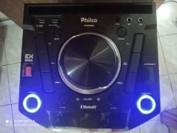Caixa Acústica Philco PCX9000 com Bluetooth Flash Lights 700 e Função Ex Bass Wrms<br><br><br>