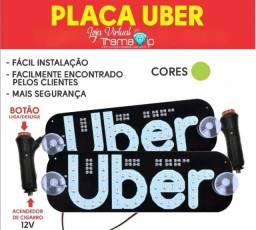 Título do anúncio: Placa Para Uber - USB (Verde)