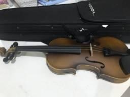 Título do anúncio: violino vogga + breu e 3 cordas extras