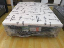Oferta**Cama Box Casal  , 10 cm de espuma D28, Novo