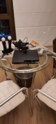 Playstation 3 slim + psmove *leia a descrição*