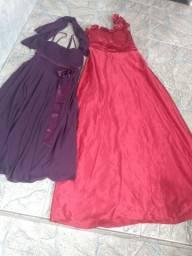 Três vestidos de festa