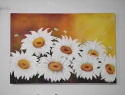 Título do anúncio: Quadro Pintura em Tela 1,20 x 0,80