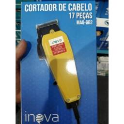 Título do anúncio: Entrega Grátis - Maquina Cortar Cabelo Barba Profissional 110v Kit Completo - 2