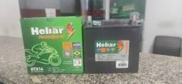 Bateria Heliar Htx14, 12ah, Agm, Auxiliar Land Rover / Mercedes