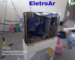 Título do anúncio: Ar Condicionado Instalação Conserto e Manutenção