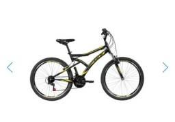 Bicicleta Caloi andes aro 26 seminova