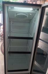 Título do anúncio: Refrigerador 276l  vitrine de vidro (cercejeira)