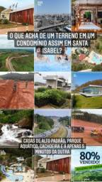 Vendo Terreno 300m2 - Cond em Santa Isabel - Aceito proposta