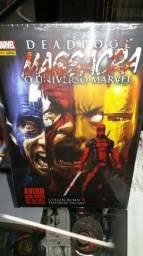 Deadpool Massacra o universo marvel(Brinde botom Deadpool)