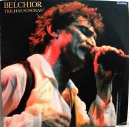 """Disco Vinil """"Belchior - Trilhas Sonoras"""" (Ao vivo) com encarte - 1990 - Usado"""