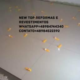 Porcelanato, pastilhas, azulejos e reformas em geral