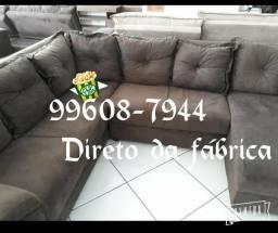Oferta de Fabrica Sofa de canto Rebecca Com chaise