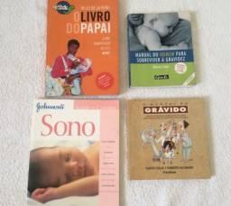 Lote de livros para o papai