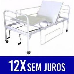 Cama Hospitalar Fawler Dois Movimentos Manual