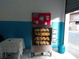 Máquina de assar frango seminova