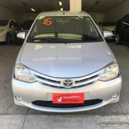 Etios Sedan X 1.5 Flex 2016 Completo - 2016