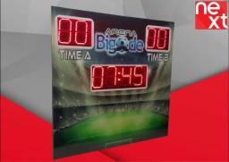 Placar Futebo Society Futsal Poliesportivo