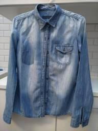 Camisa Jeans (tamanho 38)