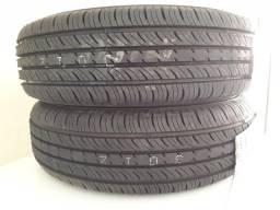 Par de pneus dunlop novos 175/70/13