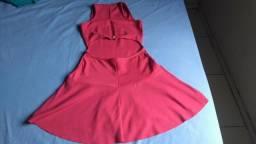 Vestido cor de rosa