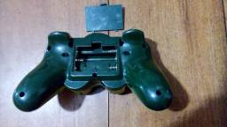 Leia antes. Controle Wireless Playstation 2 2.4ghz 8mts