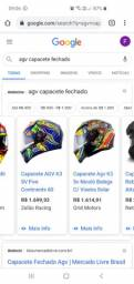 Capacete AGV K3  continents
