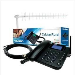 Celular rural + Atena + cabo 15 metros novo ( Entrega gratis)