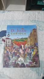 Livro D. João Carioca (Quadrinhos Na Cia)