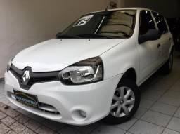 Clio Expression 1.0 Flex 2015 Completo Única Dona 34.000 Km - 2015