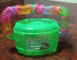 Gaiola de Hamster com todos os assessórios