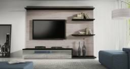 Rack e painel para TV 100% MDF - Novo! Em até 10x no cartão c/ juros