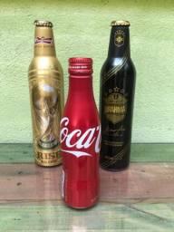 Trio garrafas alumínio