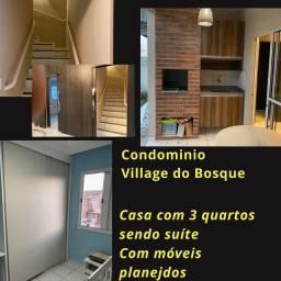 Village do bosque 3 quartos sendo uma suíte