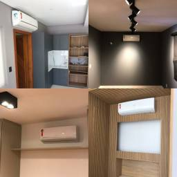 Instalação de ar condicionado split com rapel
