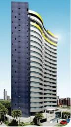 Vuarnet - Miramar - Novo - 45 m² - 01 quarto - Varanda - Sul - Andar intermediário