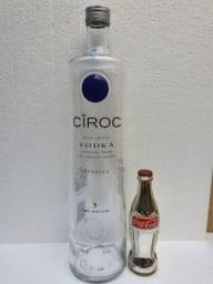 Vodka Ciroc Garrafa Vazia 3 litros Gigante 50cm Coleção Rara