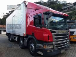 Scania P-310 8x2 2014 Baú de 9,5 mts