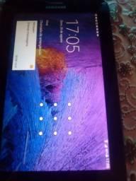 Vendo um tablet MS galax Samsung T116BU usa chips vivo claro e Tim oi novo tem nota fiscal