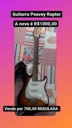 Título do anúncio: Guitarra Peavey Predator + Pedaleira G1XNext