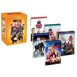 The Big Bang Theory - 1 a 5 Temporada Box completo