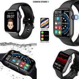 Título do anúncio: Relógio SmartWatch IWO13 Séries 7 W37 Tela HD Faz Ligações Troca Foto Botão Interativo