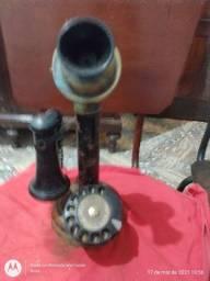 Telefone Antigo Tipo castiçal